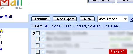 Gmail Color-Coded Labels in Action