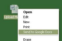 Google Docs Uploader