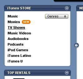 iTunes Gets QuickLinks
