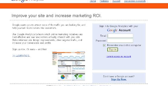 Google Analytics Streamlines Login